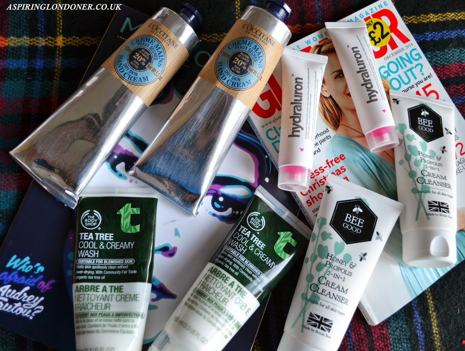 Repurchased Skincare ft. L'Occitane, Hydraluron, The Body Shop & Bee Good - Aspiring Londoner
