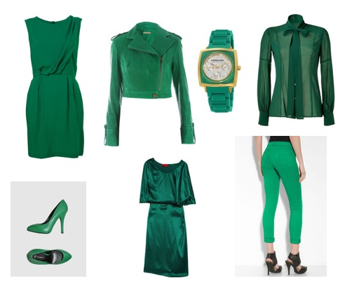Emerald Green Dress on Was Searching For Cute Wrap Dresses For Work  And Viola Stubbled