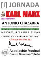 Antonio Chazarra: El pensamiento desenmascarador y revolucionario de Karl Marx