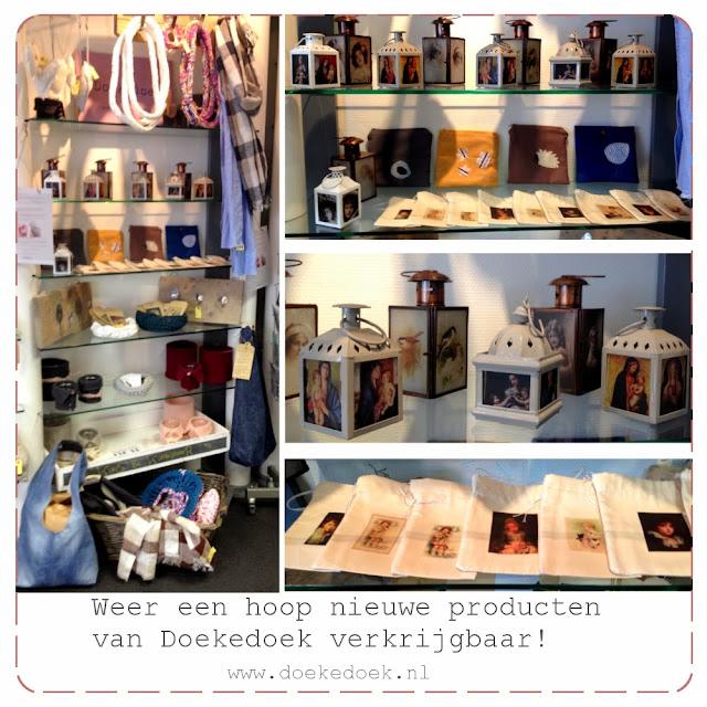 afbeelding van lantaarns, tassen, shawls, kapstokken etc. van Doekedoek, www.doekedoek.nl