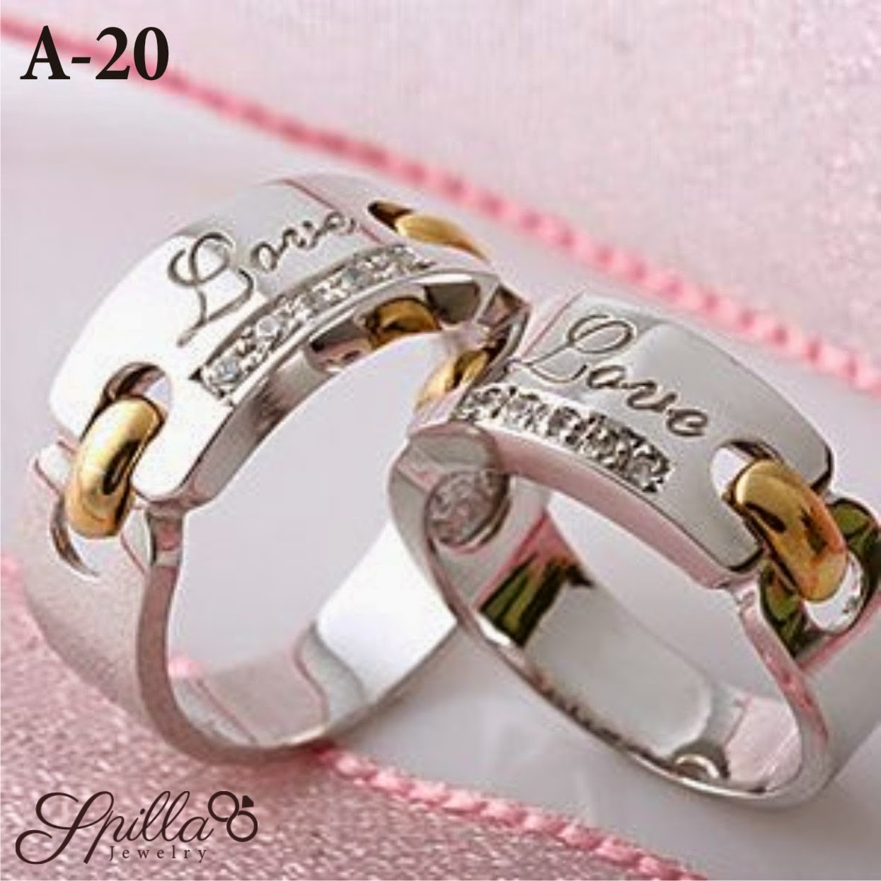 Cincin Couple A-20