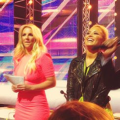X Factor Judges Britney and Demi Texas Auditions