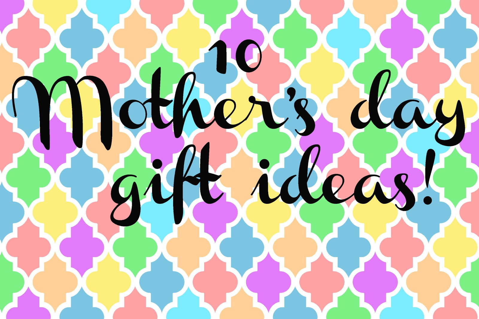 Doodlecraft 10 Great Mother 39 S Day Gift Ideas