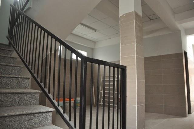 An Lộc 2 - Cầu thang + nhà để xe