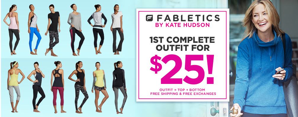 Get your first complete outfit for only $25