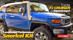 Toyota FJ Cruiser SNORKEL Kit