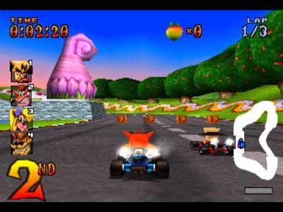 Jogos Celular Java Crash Team Racing Android