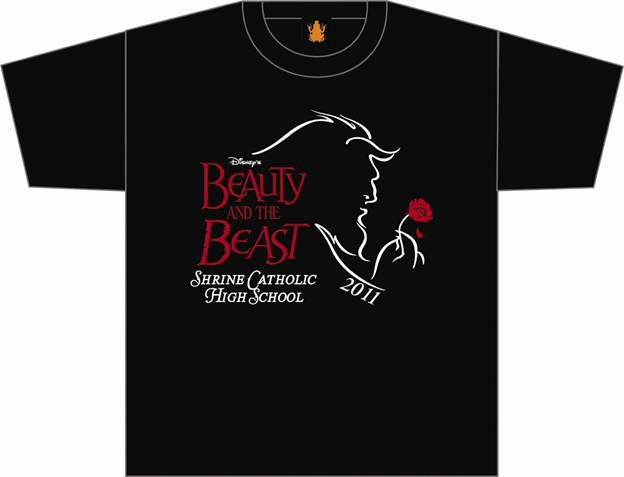 Shs beauty the beast t shirt design do you like for Hair salon t shirts