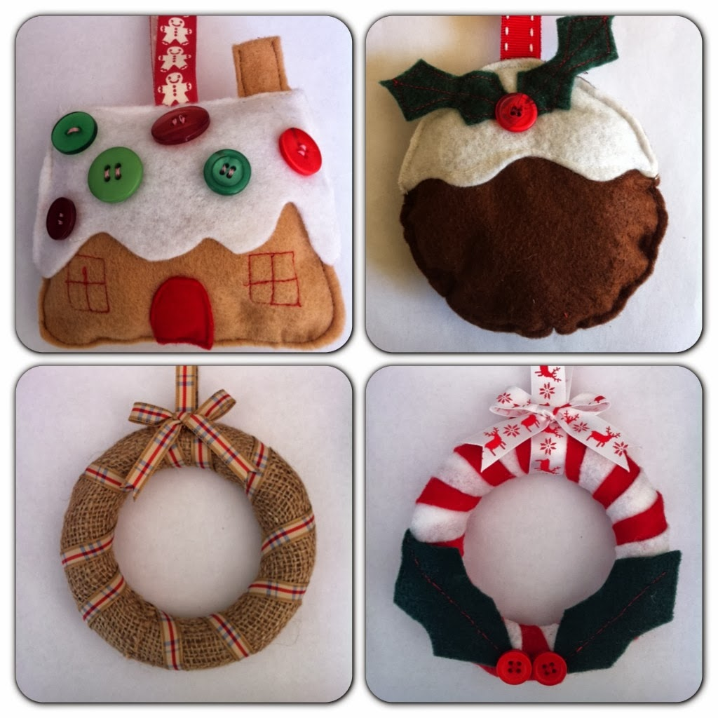 Gift baskets and gifts gorgeous handmade christmas for Homemade christmas decorations uk