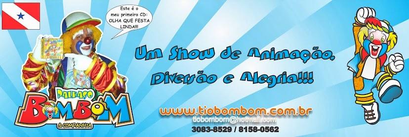 Palhaço Bombom Show Infantil