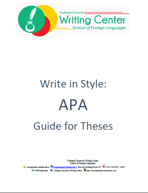 APA Dissertation Guide