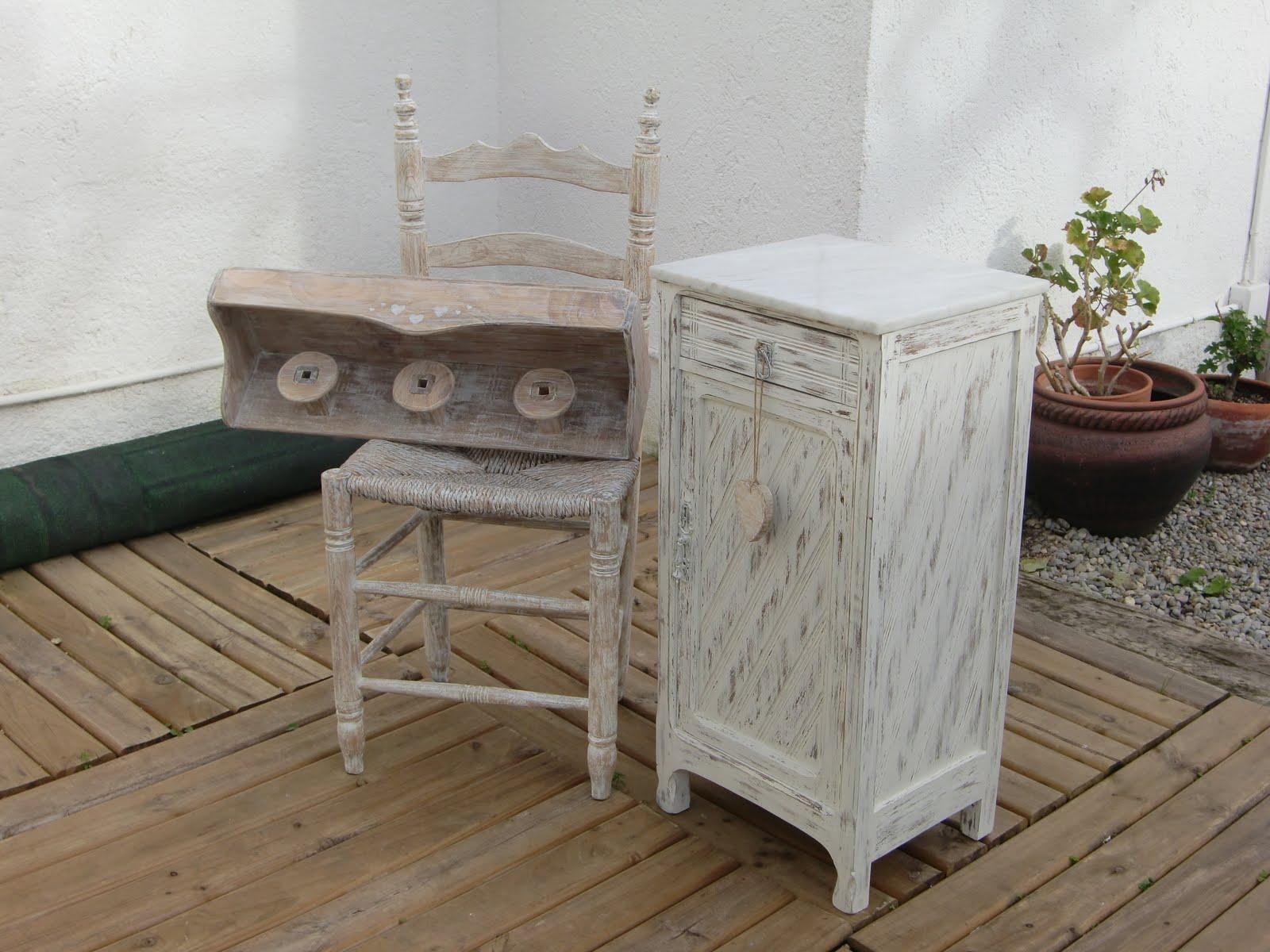 Blancpedra muebles decapados mobles decapats - Muebles decapados ...