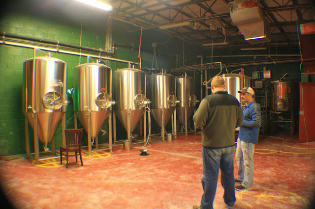 ShawneeCraft Brewing, Fermentation Tanks, Brewhouse, Craft Beer, Pennsylvania