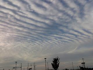 ツーリング先の雲