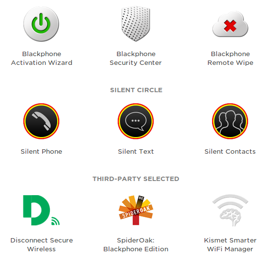 blackphone apps