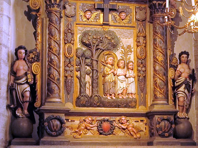 Altar piece from St Maria Visby Gotland Sweden