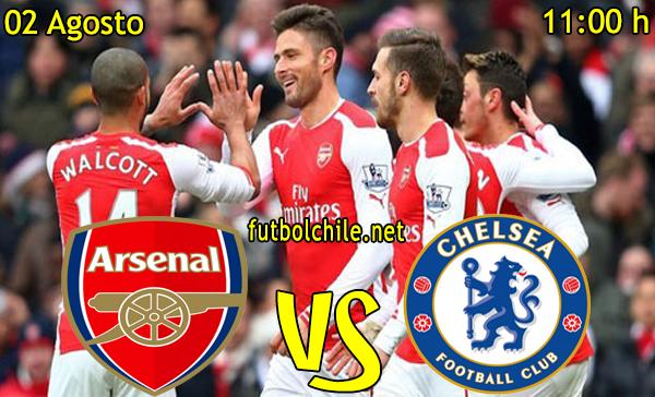 Arsenal vs Chelsea - Community Shield - 11:00 h - 02/08/2015