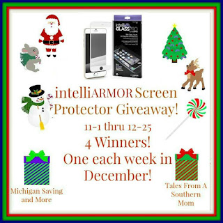 Enter the intelliARMOR Screen Protector Giveaway! Ends 12/25