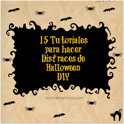 tutoriales disfraces de halloween