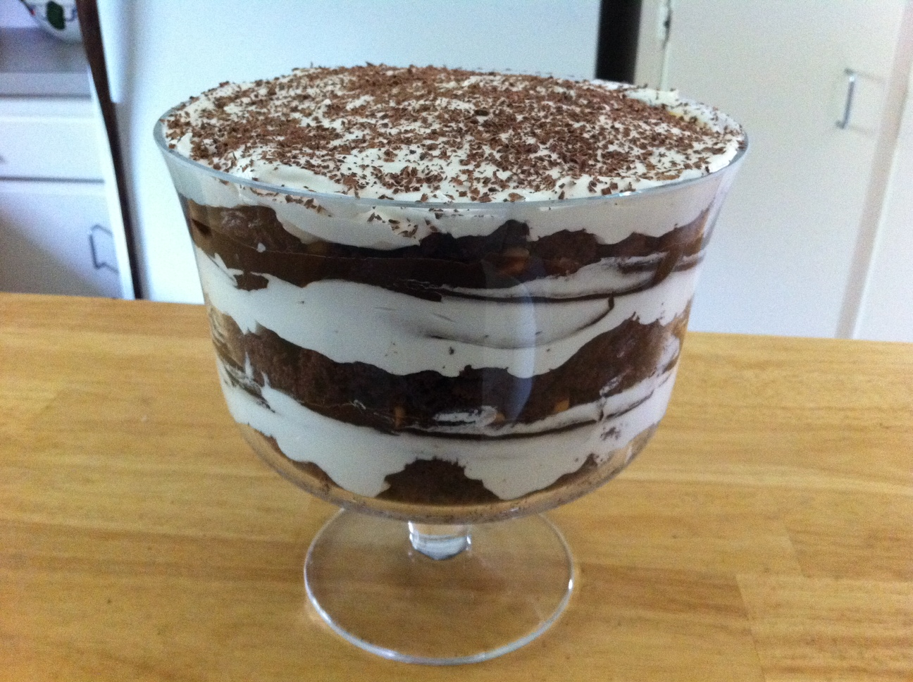 The Lazy Cook's Kitchen: Chocolate Trifle
