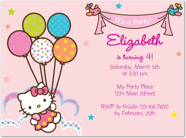 Hello kitty tiny prints birthday invitation the little style file a hello kitty party invitation with her picture on it i was not optimistic while typing in tinyprints but was excited to find several choices filmwisefo