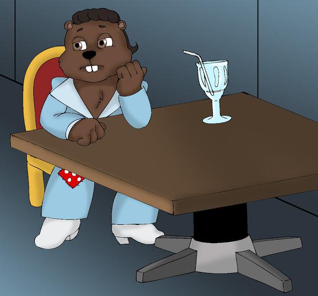 Saturday Night Beaver por KrDoz