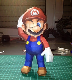 Super Mario Bros Papercraft