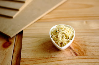 Angel Hair Pasta with Garlic Oil from Little Accidents in the Kitchen