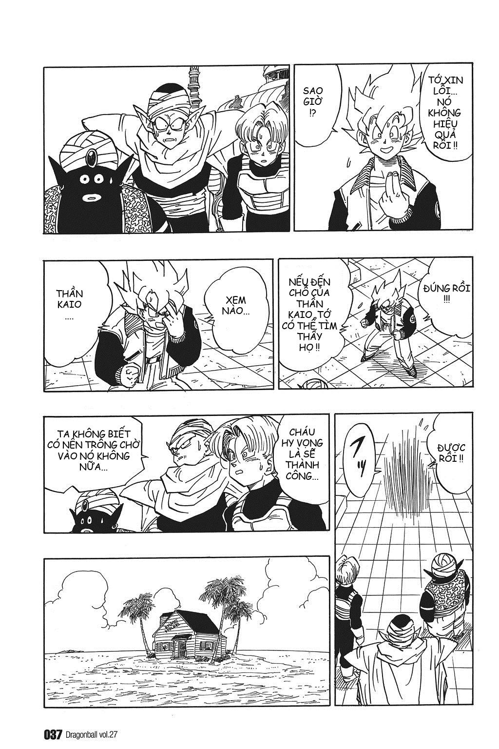 xem truyen moi - Dragon Ball Bản Vip - Bản Đẹp Nguyên Gốc Chap 393