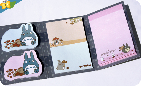 Minis post-it Totoro - Le Club des Sottes