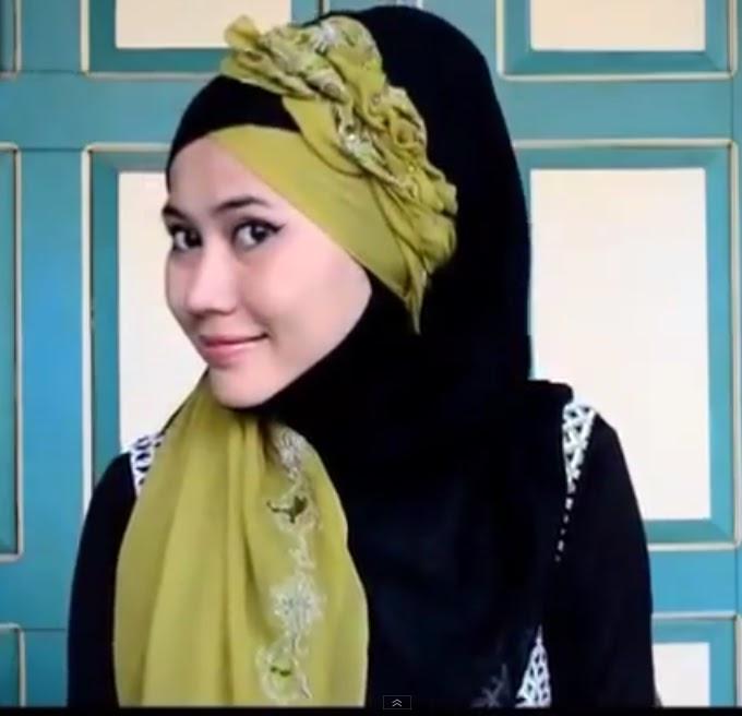 cara memakai jilbab wisuda brekelesix 39 s blog. Black Bedroom Furniture Sets. Home Design Ideas