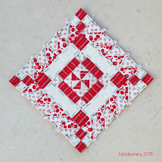 Block 9 - Nearly Insane Quilt