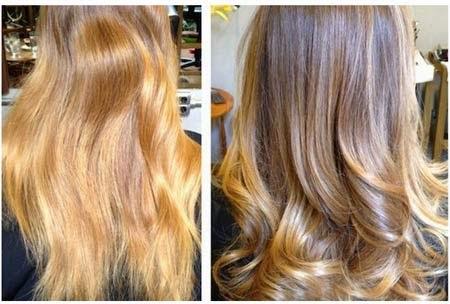 corte de cabelo bordado antes e depois