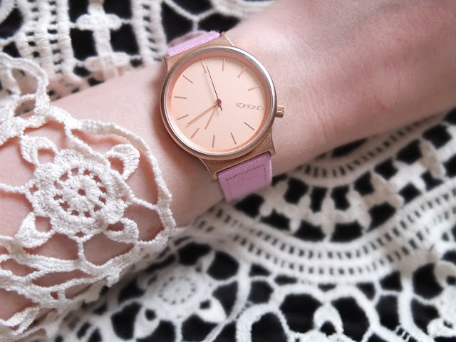 The Bargain Find: Komono Watch fro TK Maxx on Hello Terri Lowe, UK Fashion blog.