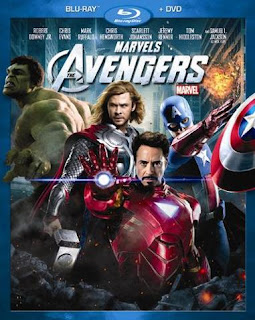 Carátula Los Vengadores película HD 1080p latino 2012