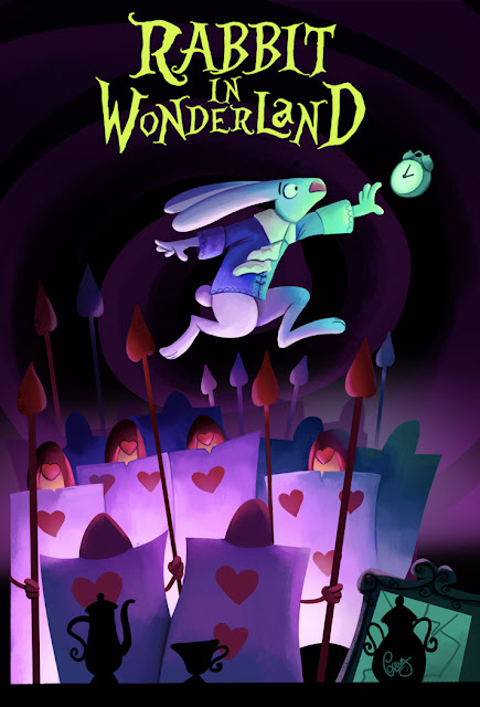 Descarga Rabbit in Wonderland, plataformas en el maravilloso mundo del Spectrum