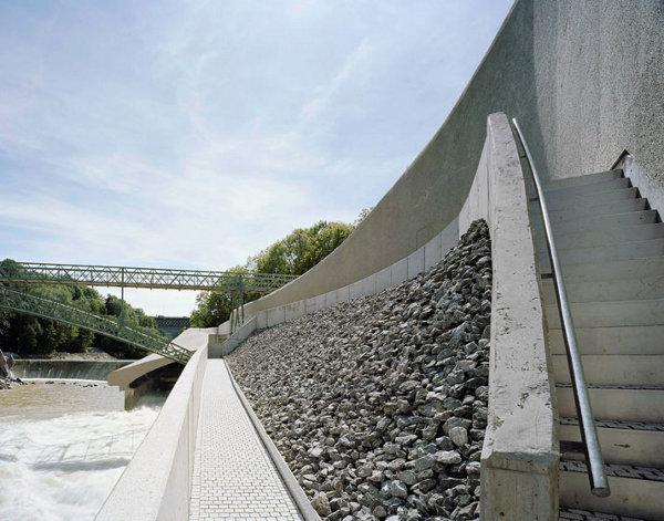 Empangan Hidroelektrik Bentuk Futuristik Di Jerman