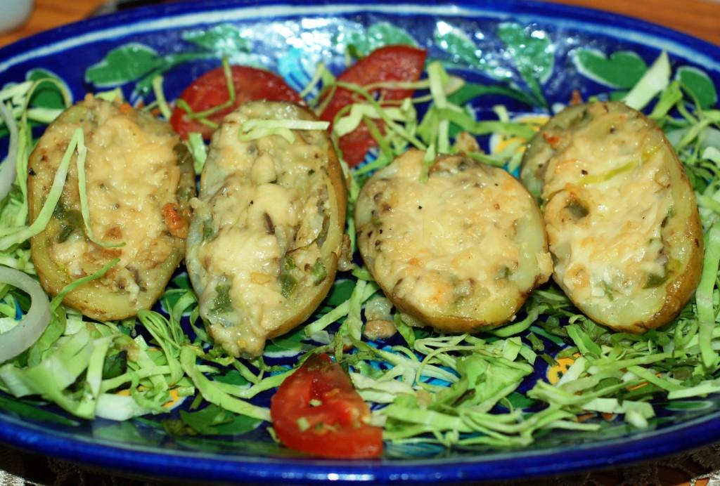 Bake a mania jacket potatoes for Jacket potato fillings mushroom