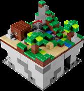 The Minecraft Lego set