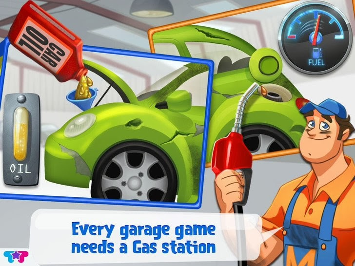 Mechanic Mike - First Tune Up App iTunes App By Kids Fun Club by TabTale - FreeApps.ws