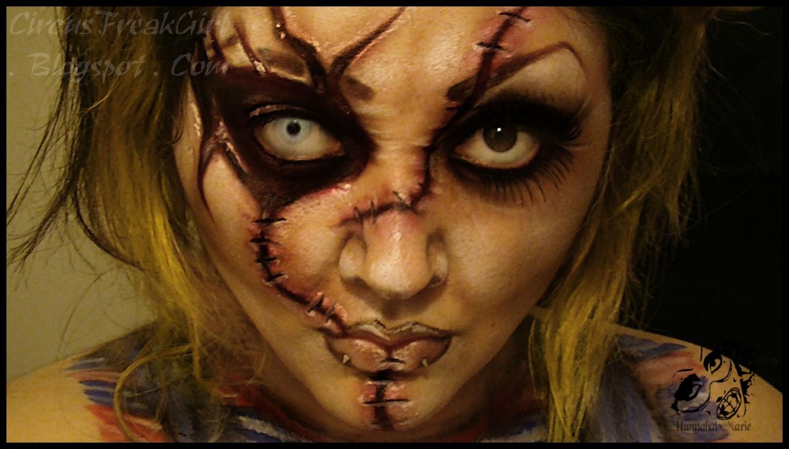 Makeup Ideas » Chucky Makeup - Beautiful Makeup Ideas and Tutorials