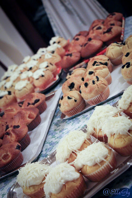 trio di cupcakes all'olio d'oliva
