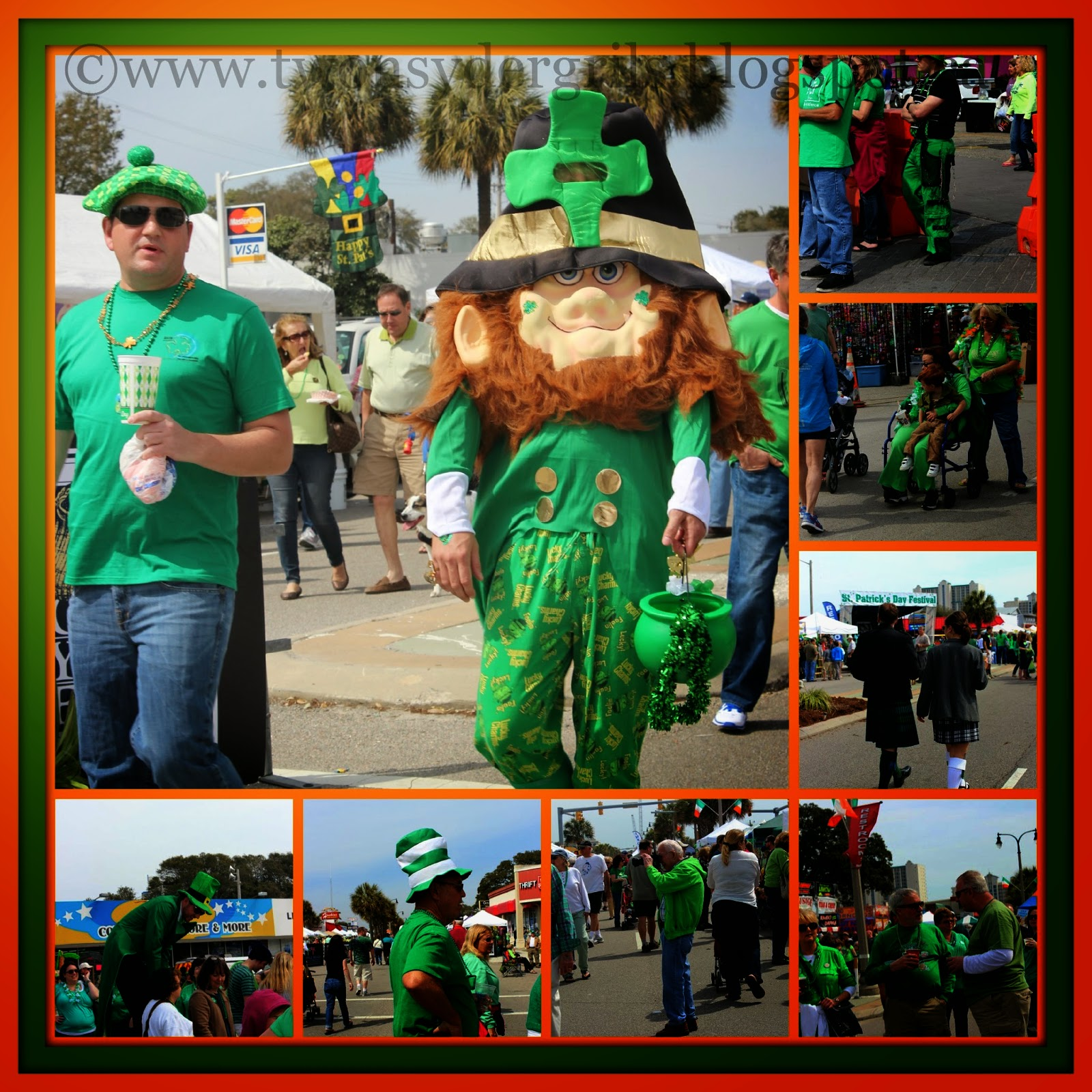 Collection of St. Patrick's Day Festival