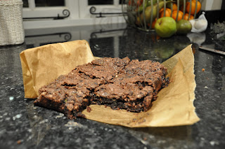 courgette brownies vegan vegetables chocolate