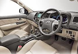 bagian interior mobil toyota fortuner