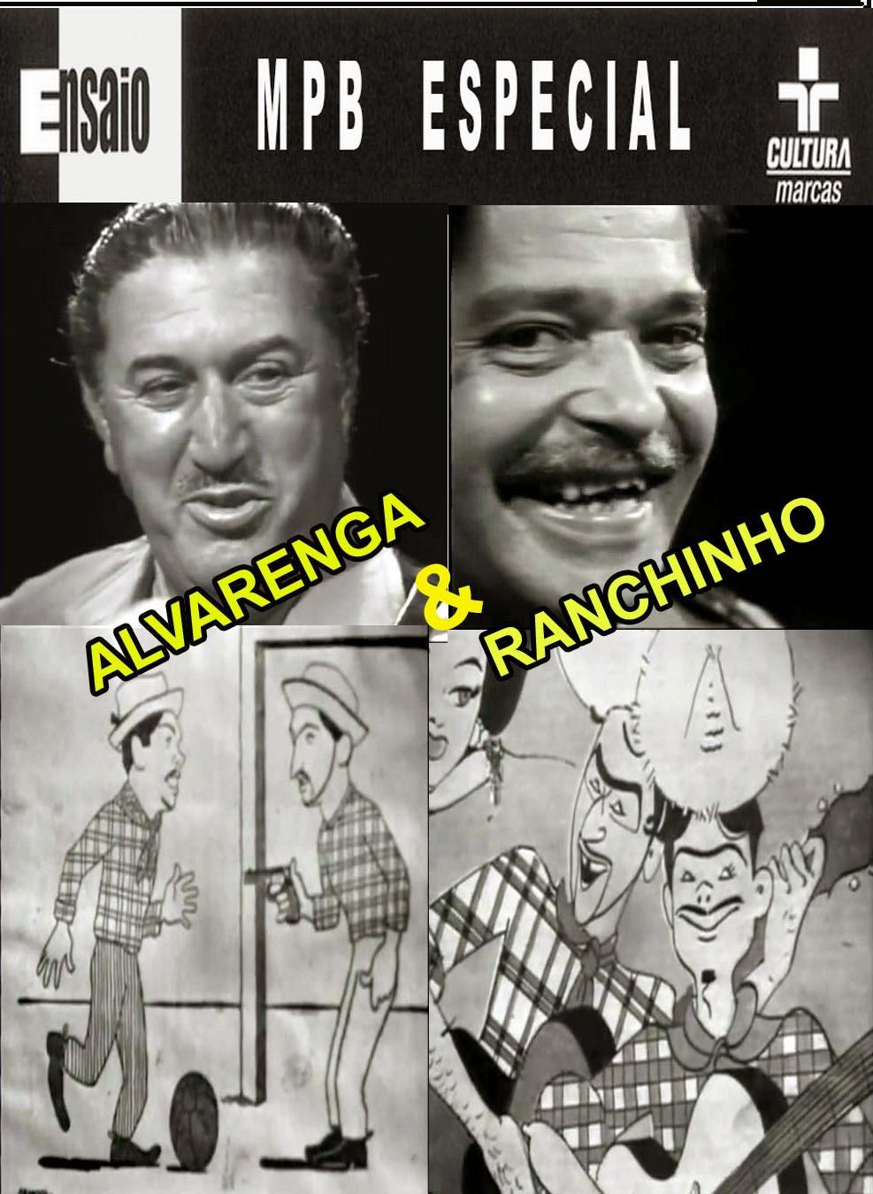 DVD Alvarenga e Ranchinho - Ensaio MPB Especial (1973)