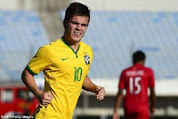 Chelsea will announce the £4.5million signing of Brazilian wonderkid Nathan on Wednesday