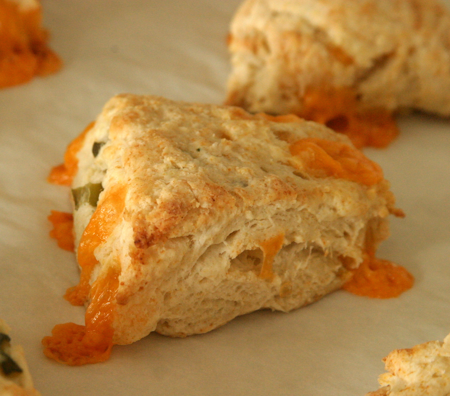 All Our Fingers in the Pie: Cheddar & Jalapeno Biscuits