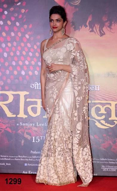 Deepika Ramleela saree