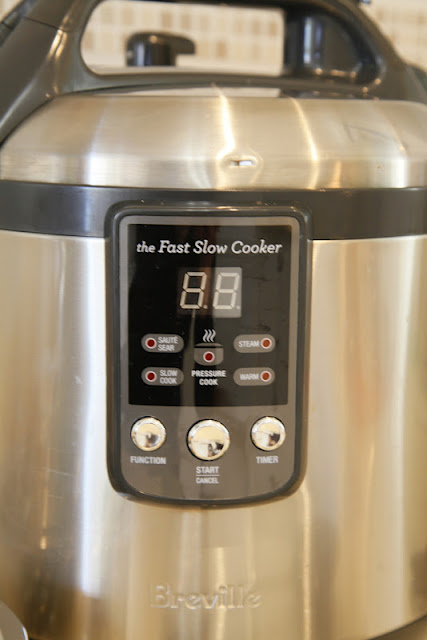 breville fast slow cooker manual